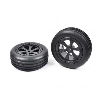 2 roues avant pour Buggy 2WD Hexa 12 mm - 1/10 1/12 - T2M T4911/1