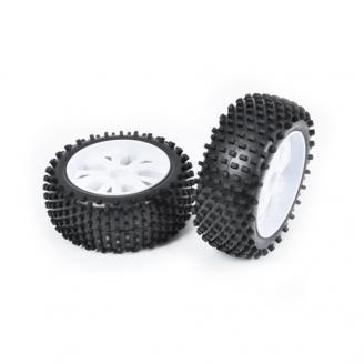 2 roues avant à picots Hexa 12 mm - 1/10 - T2M T4900/2C