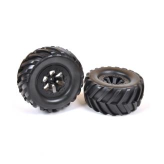 2 roues pour Pirate Xt-S - 1/10 - T2M T4941/25