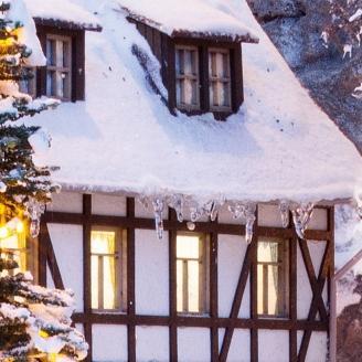 Stalactites de glace pour Paysages d'hiver-HO 1/87-NOCH 08756