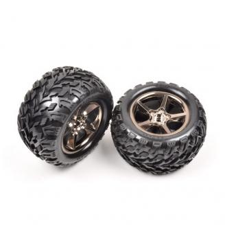 2 roues AV ou AR pour Truggy Hexa 17 mm - 1/10 XL 1/8 - T2M T4924/52