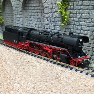 Locomotive BR 44 0592-4 DR Ep IV -N-1/160-FLEISCHMANN 714402