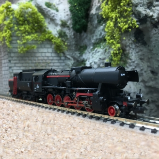 Locomotive classe 52 3440 ÖBB Ep III - IV digital son -N 1/160-FLEISCHMANN 715292