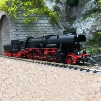 Locomotive BR 52 5468-2 DR Ep IV digital son -N 1/160-FLEISCHMANN 715294