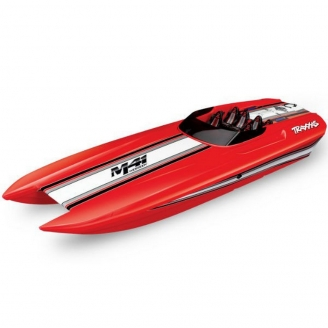 Offshore Catamaran DCB M41 - Power Boat Monocoque Brushless - TRAXXAS TRX57046-4