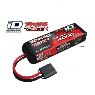 Accu Li-Po ID 11.1V 25C 4000mah 3S - TRAXXAS 2849X