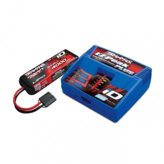 Pack Chargeur EZ-Peak Plus + 1 x Li-Po 11.1V 4000mAh-TRAXXAS 2994G