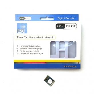 Décodeur digital 21 MTC, NEM660 lokpilot  V5 -H0 1/87-  ESU59619