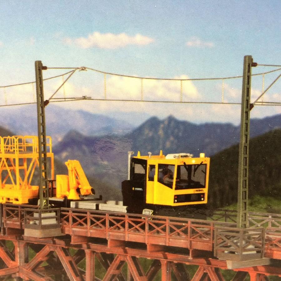Supports de mât catenaire-HO-1/87-KIBRI 39754
