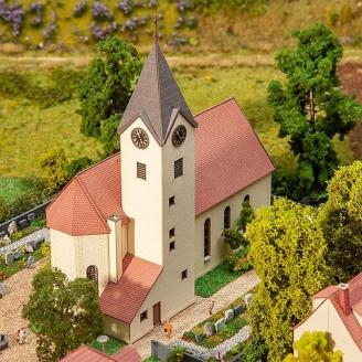 """Eglise de village """"St Jean Baptiste""""-Z 1/220-FALLER 282778"""