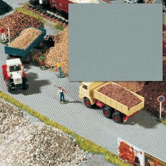 Feuille pavée flexible et autocollante 56 x 33 cm-HO 1/87-BUSCH 7088