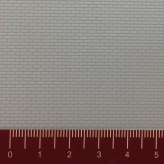 Plaque plastique relief Briques 319 x 200 mm - HO-1/87-FALLER 180735