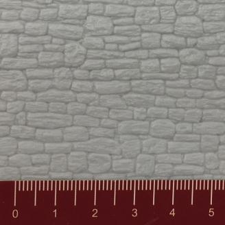 Plaque plastique relief Pierres de taille 303 x 197 mm - HO-1/87-FALLER 180738