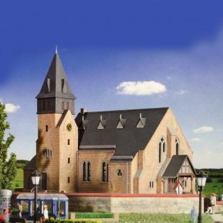 Eglise avec cimetière-HO-1/87-KIBRI 39766