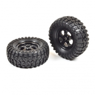 2 roues Buggy Pirate Hexa 12 mm - 1/10 1/12 - T2M T4933/50