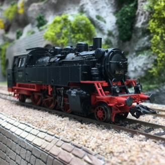 Locomotive BR 64 241 DRG Ep II digital son 3R-HO 1/87-MARKLIN 39642 DEP245-013