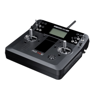 Radiocommande Programmable 14 Voies Mode 1 -  JR PROPO XG14E