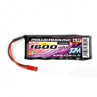 Batterie Accu RX 6V/1600 mAh BEC - T2M T135160