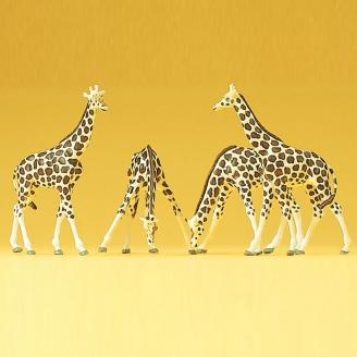 4 Girafes - N 1/160 - PREISER 79715