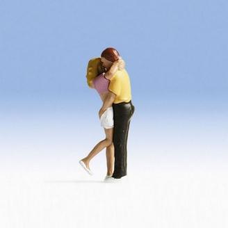 """Couple amoureux """"Helen et Steven"""" - HO 1/87 - NOCH 1551001"""