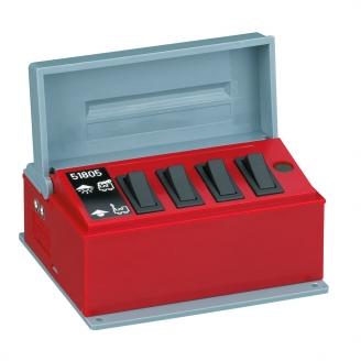 Boitier de commande à 4 interrupteurs -G 1/22.5-LGB 51805