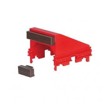 Butoir RhB Rouge Ep VI - G 1/22.5 - LGB 10316