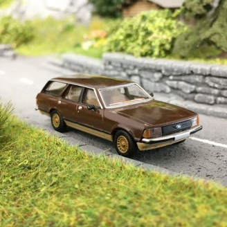 Ford Granada II Break-HO 1/87-BREKINA 19514