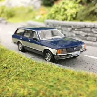 Ford Granada II Break-HO 1/87-BREKINA 19515