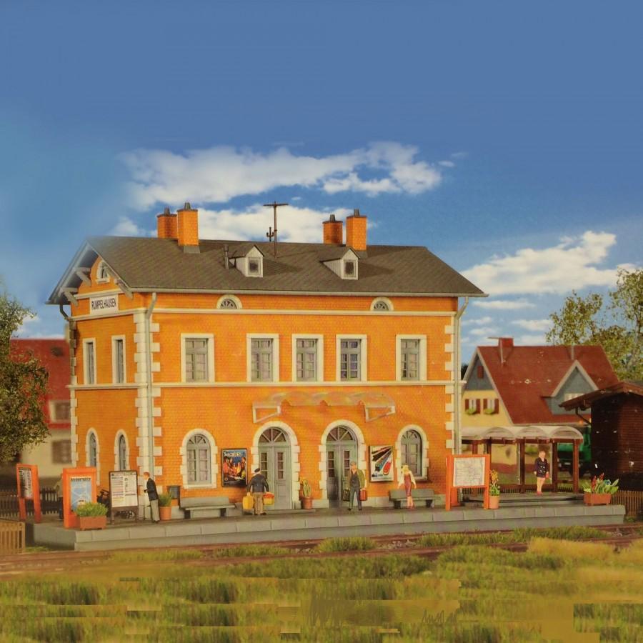 Gare de Village-HO-1/87-KIBRI 39839