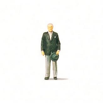 Homme politique Konrad Adenauer-HO 1/87-PREISER 28027