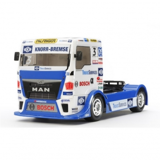 MAN TGS Team Hahn Racing TT01E 4WD Kit - 1/14 - TAMIYA 58632