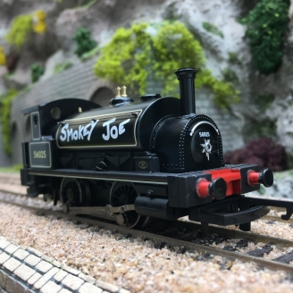Locomotive «Smokey Joe», édition du centenaire - 1983-HO 1/87-HORNBY R3822