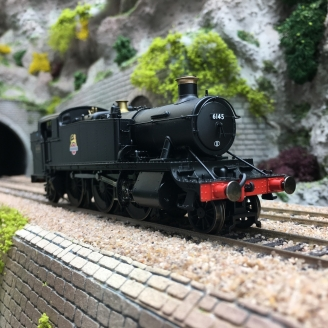 Locomotive BR, Class 6100 'Large Prairie', 2-6-2T, 6145 Ep IV-HO 1/87-HORNBY R3723