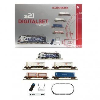 Coffret de démarrage Classe 193, 5 éléments digital son-N 1/160-FLEISCHMANN 931891