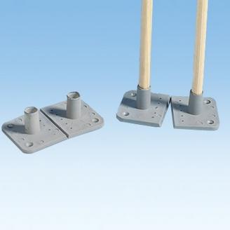 """Plaques de base pour """"pilier""""-NOCH 61670"""