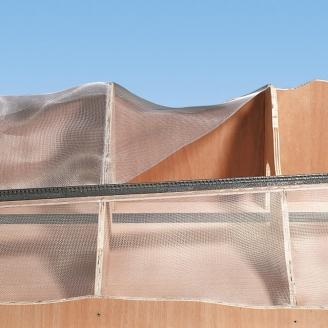 Grillage aluminium pour constitution de décor-NOCH 60991