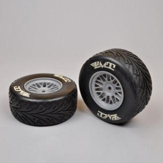 2 Roues AV Pneus PLUIE Medium Formule 1 / F1 - 1/5 - FG 10562/05