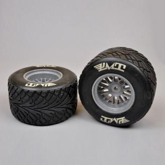2 Roues AR Pneus PLUIE Soft Formule 1 / F1 - 1/5 - FG 10565/05