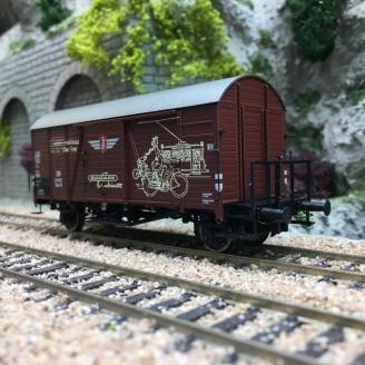 "Wagon couvert GMS 30 ""ZÜNDAPP"" DB Ep III-HO 1/87-BRAWA 47981"