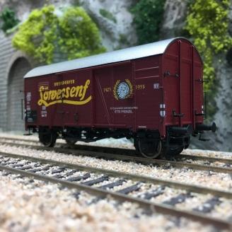 "Wagon couvert GMS 30 ""LÖWENSENF"" DB Ep III-HO 1/87-BRAWA 47984"