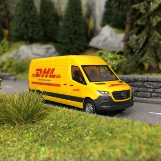 "Mercedes Sprinter ""DHL""-HO 1/87-BUSCH 52605"