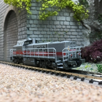 Locomotive Vossloh G1700BB /AM 843 MKB V19 Ep V-N 1/160-HOBBYTRAIN H2932