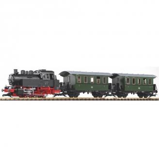 Coffret Train de voyageurs DR Ep III -G 1/22.5-PIKO 37125