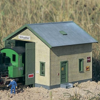 "Petite remise à Locomotive ""Red River"" - G 1/22.5 - PIKO 62044"