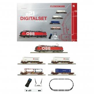 Coffret de démarrage Classe 193, 5 éléments digital son-N 1/160-FLEISCHMANN 931900