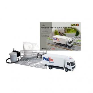 Car system coffret démarrage camion FEDEX - HO 1/87 - FALLER 161488