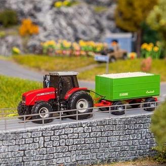 Car system Tracteur MF - HO 1/87 - FALLER 161588