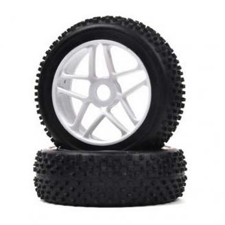 "2 roues TT ""Mini Blocs"" / Hexa 17 mm - 1/8 - T2M T422522"