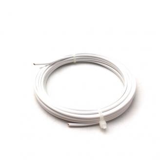 Câble Blanc 0.5 mm / 5m - ADT H05VBC