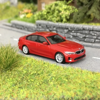BMW Série 3 Rouge-HO 1/87-HERPA 430791